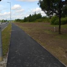 Tarmac footpath full reinstated